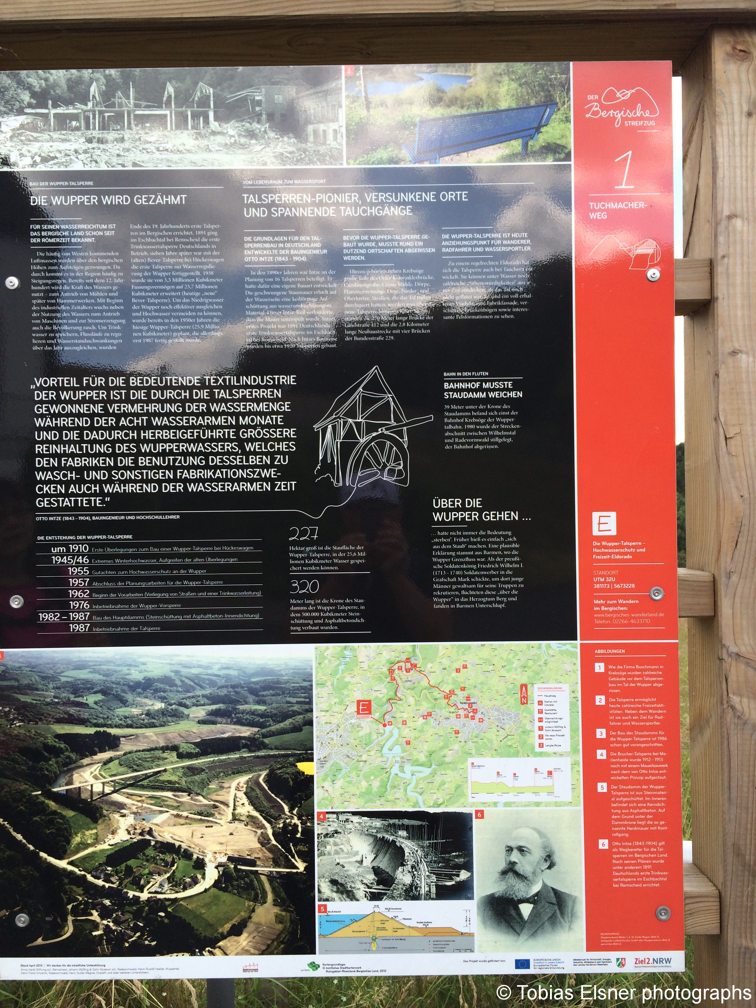 Wanderung Wald Wasser Wolle Weg Radevormwald 2014 Nr.73