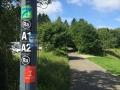 Wanderung Wald Wasser Wolle Weg Radevormwald 2014 Nr.01